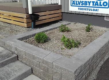 Muurikko betoniportaat
